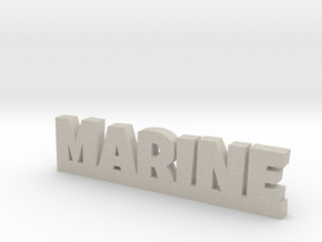 MARINE Lucky in Natural Sandstone