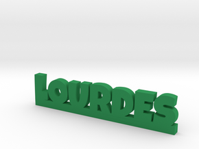 LOURDES Lucky in Green Processed Versatile Plastic