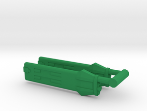 KWA Type A Klingon Warp Nacelle in Green Processed Versatile Plastic