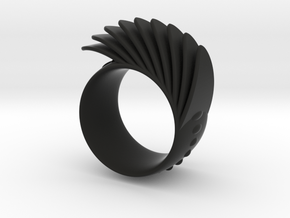 Kwartring in Black Natural Versatile Plastic: 9.75 / 60.875