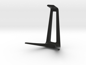 Headphone Stand in Black Natural Versatile Plastic