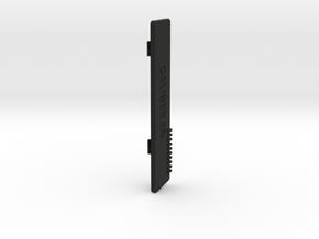 Caliber 3PS - battery door in Black Natural Versatile Plastic