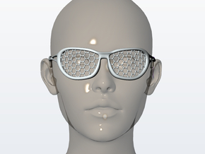 Nanotech Sunglasses in White Natural Versatile Plastic