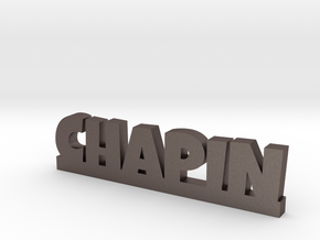 CHAPIN Lucky in Polished Bronzed Silver Steel