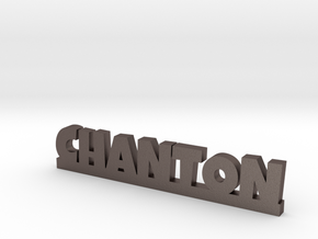 CHANTON Lucky in Polished Bronzed Silver Steel