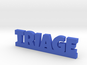 TRIAGE Lucky in Blue Processed Versatile Plastic