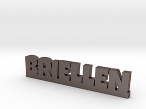 BRIELLEN Lucky in Polished Bronzed Silver Steel