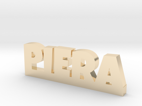 PIERA Lucky in 14k Gold Plated Brass