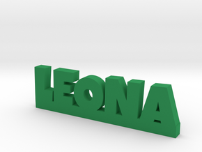 LEONA Lucky in Green Strong & Flexible Polished