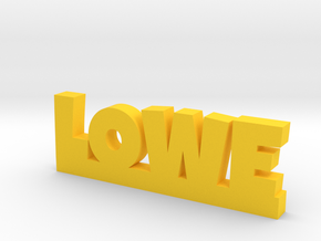 LOWE Lucky in Yellow Processed Versatile Plastic