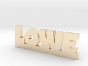 LOWE Lucky in 14k Gold Plated Brass