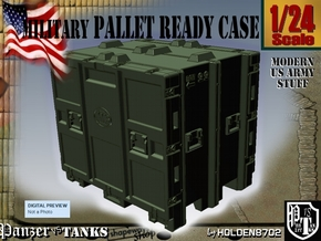 1-24 MM08 Pallet Ready Case in Green Processed Versatile Plastic