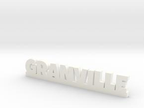 GRANVILLE Lucky in White Processed Versatile Plastic