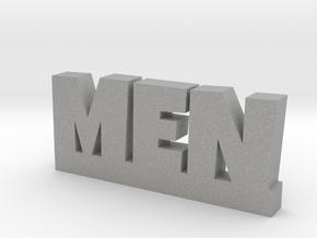 MEN Lucky in Aluminum