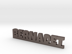 BERNADET Lucky in Polished Bronzed Silver Steel