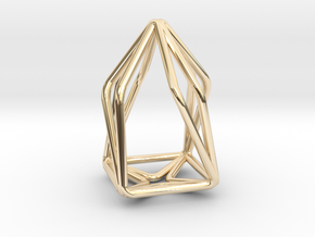 House Enmotion Pendant in 14K Yellow Gold
