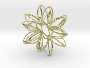 Star Potential in 18k Gold Plated Brass