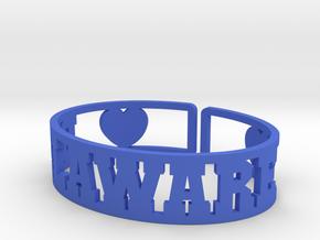 Delaware Cuff in Blue Processed Versatile Plastic
