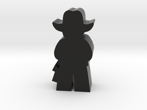 Game Piece, Cowboy, Standing in Black Natural Versatile Plastic