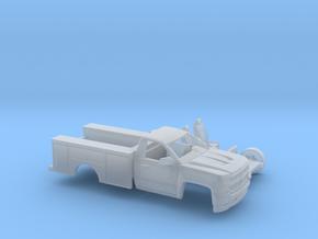 1/160 2016/17 Silverado Single/Utility Kit in Smooth Fine Detail Plastic