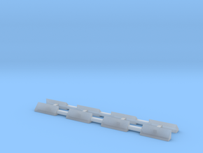 N Scale Caboose Window Shades in Smooth Fine Detail Plastic