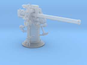 1/192 USN 3''/50 [7.62 Cm] Cal. Deck Gun in Smooth Fine Detail Plastic