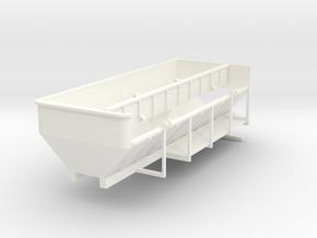 1/64 Trinity Belt box 24ft w/side door in White Processed Versatile Plastic