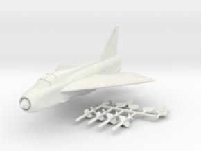1/144 BAC Lightning T.4 in White Natural Versatile Plastic