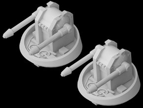 CR-90 Corvette Turret Replacement (Original) in White Strong & Flexible