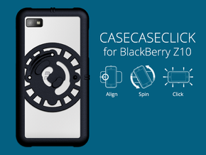 for BlackBerry Z10 : core : CASECASE CLICK in Black Natural Versatile Plastic