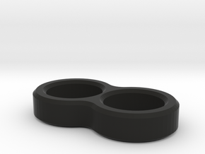 2649 - Wire routing sleeve, 2-wire (B6 | B6D | B64 in Black Natural Versatile Plastic