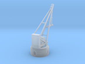 Armstrong Hydraulic Crane, Round Base in Smooth Fine Detail Plastic
