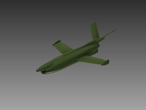 SAAB RB08 Missile 1/87 in Smooth Fine Detail Plastic