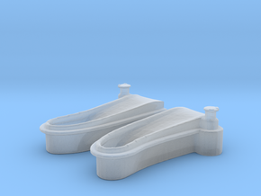 1/125 USN Windlass Foredeck in Smooth Fine Detail Plastic