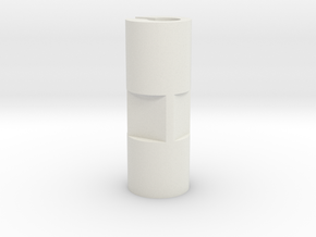KMD-FR01/FR02 Adjustment Sleeve in White Natural Versatile Plastic