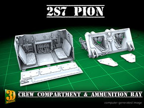 2S7 PION interior set 3 in Smooth Fine Detail Plastic