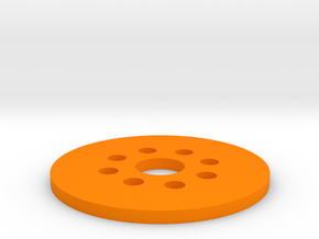 Bussard Dome Assembly - 1:650 - For DLM Parts - 02 in Orange Processed Versatile Plastic