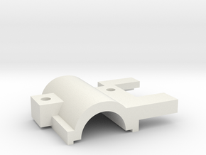 KMD-FR01 Servo Motor Cover in White Natural Versatile Plastic