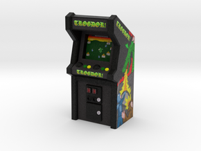 Trogdor Arcade Game, 35mm Scale in Full Color Sandstone
