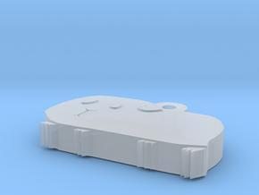 Guinea Mini Charm in Smooth Fine Detail Plastic