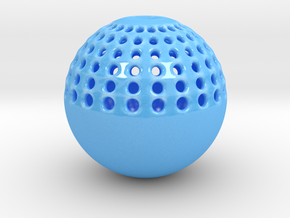 FLOWERSPHERE in Gloss Blue Porcelain