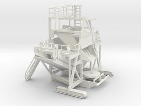 1/64 Sugar Beet Piler Main in White Natural Versatile Plastic