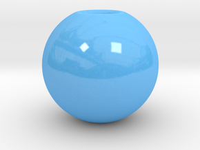 FLOWERSPHERE MONO in Gloss Blue Porcelain