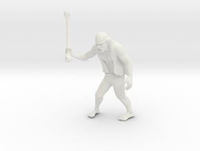 Zombie The APOCALYPSE in White Natural Versatile Plastic: Medium