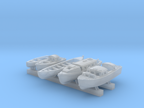 1/600 Scale RN Tribal Class Boat Set in Smoothest Fine Detail Plastic