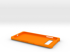 Samsung Galaxy J3 Case in Orange Strong & Flexible Polished