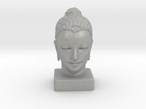Gandhara Buddha 8 inches in Aluminum