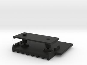 058016-01 Tamiya ORV Skid Plate, Middle in Black Natural Versatile Plastic