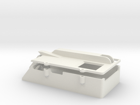 Clark TK-60 Case with Lid in White Strong & Flexible