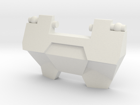 G1 Greenlight Chestplate for CW Streetwise/Prowl in White Natural Versatile Plastic